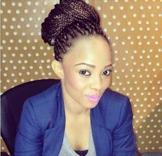 OAP Toke Makinwa who is also a Vlog queen has changed her regular weavon hairdo to Braids and she looks lovely !