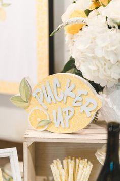 Home Decoration For Wedding Lemon themed bridal shower She Found Her Main Squeeze lemon themed party ideas.Home Decoration For Wedding Lemon themed bridal shower She Found Her Main Squeeze lemon themed party ideas Summer Bridal Showers, Bridal Shower Party, Bridal Shower Decorations, Themed Bridal Showers, Simple Bridal Shower, Wedding Showers, Bridal Shower Planning, Party Planning, Party Fotos