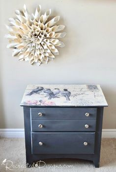 Use Mod Podge to Transform Your Most Boring Piece of Furniture!