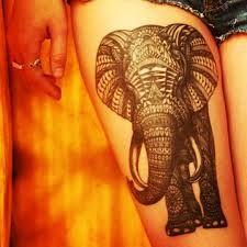 thigh tattoos for women - Hledat Googlem