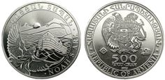 2012 Armenian One Ounce Silver Noah's Ark - MintProducts.com
