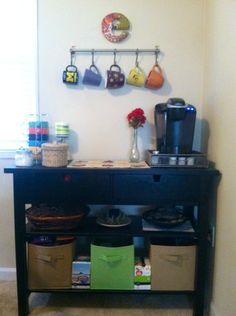 1000 images about home coffee bar on pinterest coffee for Home bar station