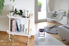 Normann Copenhagen Block Table / Eames Rocking Chair / Arne Jacobsen / Design Letters / Molekule / by Lassen