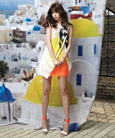 Han Hyo Joo Thinks About Greece For Viki's Summer 2013 Pictorial Korean Beauty, Asian Beauty, Han Hyo Joo, Queen, Korean Model, Beautiful Asian Women, Korean Actresses, Asian Style, Pop Fashion
