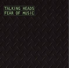 Fear Of Music, Talking Heads (1979) | 24 Minimalist Album Covers