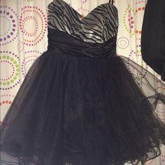 Dress for sale!!! Sequin Zebra Print dress only worn once for sale ❤️❤️ WINDSOR Dresses Prom