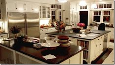 kitchen in Something's Gotta Give- large and incharge