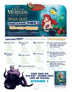 Free Printables for Disney's Animated Movie The Little Mermaid – SKGaleana Little Mermaid Movies, Little Mermaid Birthday, Little Mermaid Parties, Ariel The Little Mermaid, Mermaid Disney, Disney Birthday, Birthday Games, Third Birthday, Birthday Parties