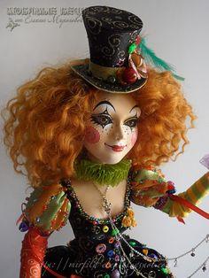 любимые вещи handmade: Клоунесса!