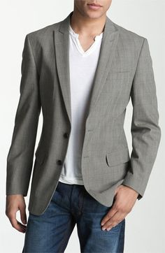 John Varvatos Star USA Plaid Blazer  199 dollars.   I'd want a smoother V-neck -- just sayin'