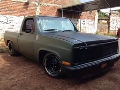 Square body S10 Truck, Chevy Pickup Trucks, Classic Chevy Trucks, Chevy C10, Chevy Pickups, Dodge Trucks, Chevrolet Trucks, Muscle Truck, Lowered Trucks