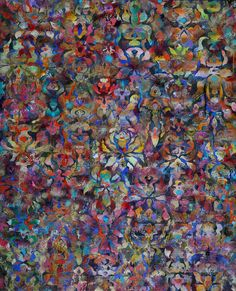 Golden Flower Series X 2016 Acrylic, Collage on Canvas by Lainard Bush Gerhard Richter, Jackson Pollock, Golden Flower, My Images, City Photo, Abstract Art, Collage, Paintings, Artists