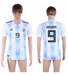 Argentinien Gonzalo Higuain 9 Heimtrikot WM 2018 Herren Lionel Messi, Polo Ralph Lauren, Polo Shirt, Sports, Mens Tops, Fashion, World Cup, Argentina, Football Soccer