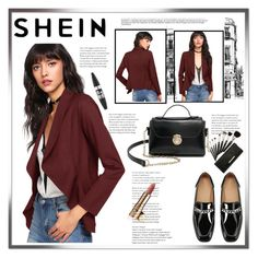 """""""SHEIN"""" by armina-saric ❤ liked on Polyvore featuring Maybelline"""