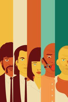 Pulp Fiction | Fan Art | watch clips now at miramax.com