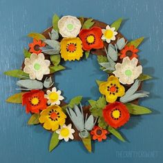 Make a lovely wreath from something that usually goes in the trash. A great craft to do on your own or with the kids!