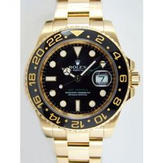 Rolex GMT Master II Yellow Gold Watch, Black Dial, http://www.amazon.ca/dp/B00BLIDW2I/ref=cm_sw_r_pi_awdl_hDYjwb23KF6SW