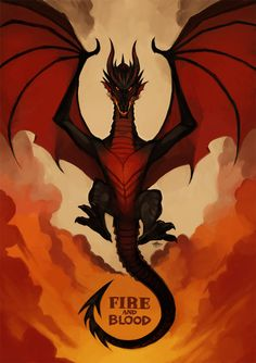 """Drogon by HaughtyFlaki. """"Khaleesi … there sits Balerion, come again""""."""