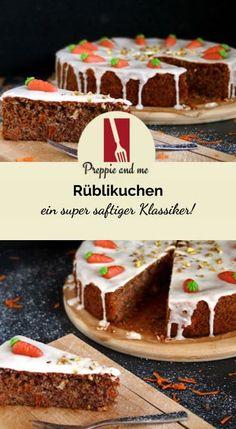 Rüblikuchen - un classique super juteux! Easy Easter Desserts, Easter Treats, Easter Recipes, Chocolate Easter Cake, Chocolate Desserts, Easy Cookie Recipes, Baking Recipes, Easter Cupcakes, Baking With Kids