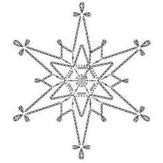 Galerie odrůdy: vzory háčkování-Vánoce