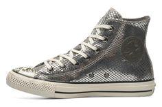 Converse Chuck Taylor All Star Snake Hi W (Argent) - Baskets chez Sarenza (201070)