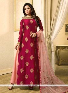 Buy bollywood celebrity salwar kameez, actress replica suits, designer bollywood suits online. Stunning Drashti Dhami designer suit for wedding.  - New Arrivals