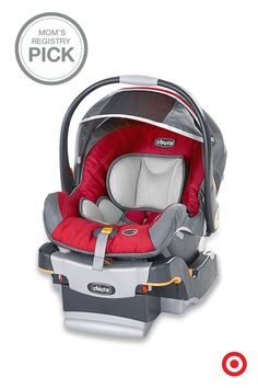 Keep Baby safe and secure with the Chicco KeyFit 30 Infant Car Seat. Featuring a thickly cushioned seat pad, 5-point harness, energy-absorbing foam for side-impact protection, and center-pull adjustment for easy installation, it's no wonder it's a Mom's Registry Pick (and a fave for little ones).