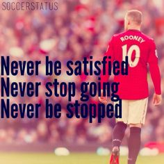 Wayne Rooney Quotes, Sayings & Images - Motivational Lines, Rooney quotes on football training success hardwork manchester united goals love life work Wrestling Quotes, Football Quotes, Soccer Pro, Play Soccer, Volleyball, Motivational Lines, Soccer Motivation, Sports Celebrities, Tennis Quotes