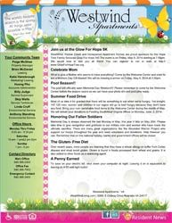 Monthly Newsletters Work Stuff Newsletter Sample Bullet Journal Property Management