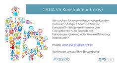 #job #stellenangebot #xpsjob #festanstellung #automotive #ingenieur #catia #kunststoff