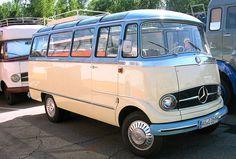Vintage Mercedes Camper Van to travel to burning man