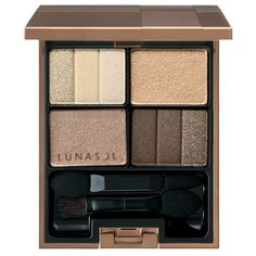Kanebo Lunasol Three Dimensional Eyes Eyeshadow 01 Neutral Beige, 02 Soft Beige, 04 Cool Beige, 05 Deep Beige (01 Neutral Beige) -- Check out this great product.