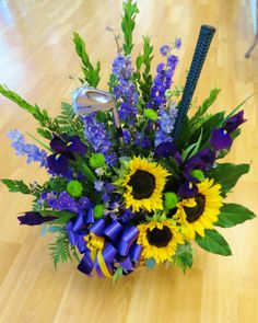 Custom Sympathy Flowers from My Painted Garden Florist