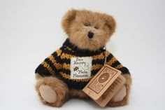 Boyds Bears FOB Retired Teddy Bear BUZZ with Tag - 2006 EUC - Bee Happy
