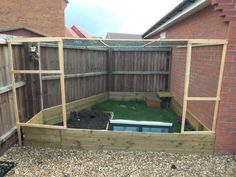 Outdoor Tortoise Enclosure..... The Build.... - Reptile Forums - AMAZING @ http://www.reptileforums.co.uk/forums/habitat-pictures/307187-outdoor-tortoise-enclosure-build.html
