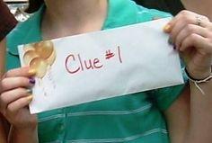 Birthday party ideas for teens. Scavenger Hunt http://www.giftideascorner.com/birthday-gifts-ideas/