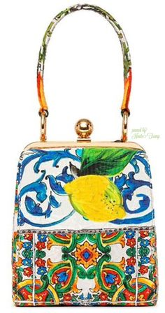 Dolce&Gabbana - Flower Bag - 2014 Pre-Fall