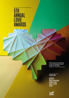 Lovie Awards campaign identity | By Alexander Boxill