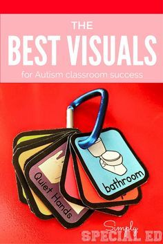 Visual aids: First/Then boards, Checklists, and Visual Schedules Tap the link to check out fidgets and sensory toys! Life Skills Classroom, Classroom Behavior, Autism Classroom, Special Education Classroom, Preschool Classroom, Preschool Schedule, Autism Education, Kids Schedule, Toddler Classroom