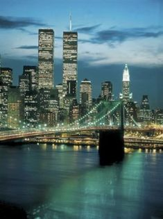 Photo of Twin Towers, World Trade Center, New York World Trade Center Nyc, Trade Centre, 11 September 2001, Dream City, Jolie Photo, Night Life, New York City, New York Skyline, Cool Pictures