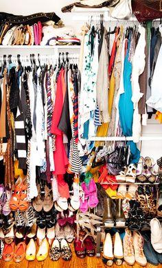 Louise Roe's closet // The Coveteur