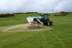 International course fairway top-dressing May 14