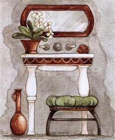 Athena III Classic Bath by Diane Knott art print