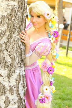 Rapunzel #Disney #cosplay