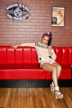Retro Diner Editorials #Fashion #Retro #Diner