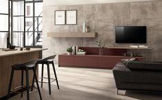 kitchen design on Behance Kitchen Furniture, Furniture Design, Apartment Interior, New Room, Wall Wallpaper, Interior Design Kitchen, Decoration, Behance, Table