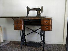 bruce treadle sewing machine