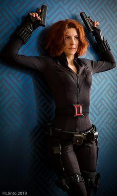 Black Widow Cosplay, Mavel's Avengers by Cosmic-Empress