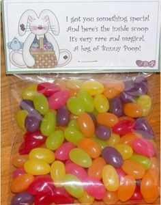 Bunny Poop... (jelly beans)