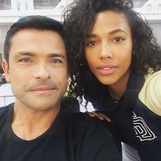 Msark Consuelos and Kylie Bunbury